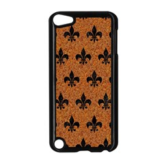 Royal1 Black Marble & Rusted Metal (r) Apple Ipod Touch 5 Case (black)