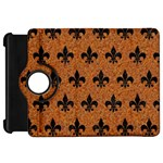 ROYAL1 BLACK MARBLE & RUSTED METAL (R) Kindle Fire HD 7  Front