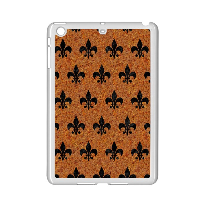ROYAL1 BLACK MARBLE & RUSTED METAL (R) iPad Mini 2 Enamel Coated Cases