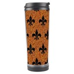 ROYAL1 BLACK MARBLE & RUSTED METAL (R) Travel Tumbler Right