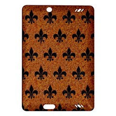 Royal1 Black Marble & Rusted Metal (r) Amazon Kindle Fire Hd (2013) Hardshell Case