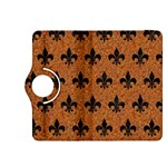 ROYAL1 BLACK MARBLE & RUSTED METAL (R) Kindle Fire HDX 8.9  Flip 360 Case Front