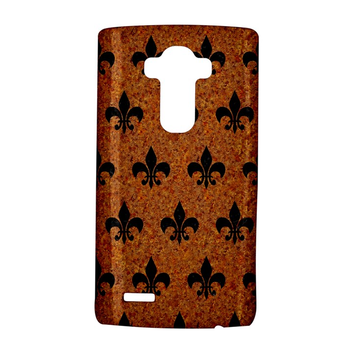 ROYAL1 BLACK MARBLE & RUSTED METAL (R) LG G4 Hardshell Case