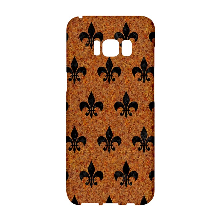 ROYAL1 BLACK MARBLE & RUSTED METAL (R) Samsung Galaxy S8 Hardshell Case