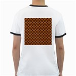 SCALES1 BLACK MARBLE & RUSTED METAL Ringer T-Shirts Back