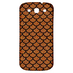 Scales1 Black Marble & Rusted Metal Samsung Galaxy S3 S Iii Classic Hardshell Back Case