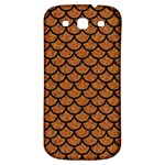SCALES1 BLACK MARBLE & RUSTED METAL Samsung Galaxy S3 S III Classic Hardshell Back Case Front
