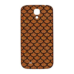 Scales1 Black Marble & Rusted Metal Samsung Galaxy S4 I9500/i9505  Hardshell Back Case