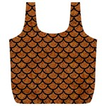 SCALES1 BLACK MARBLE & RUSTED METAL Full Print Recycle Bags (L)  Front