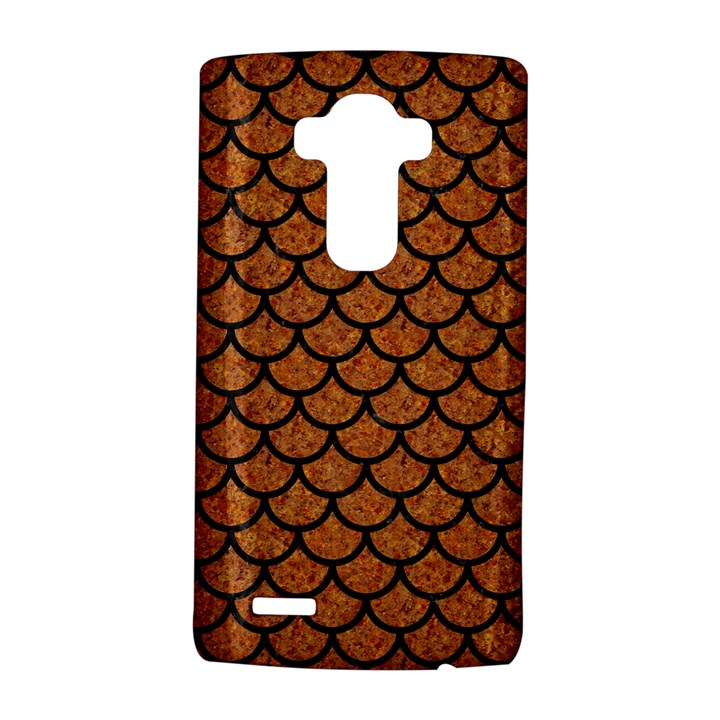 SCALES1 BLACK MARBLE & RUSTED METAL LG G4 Hardshell Case
