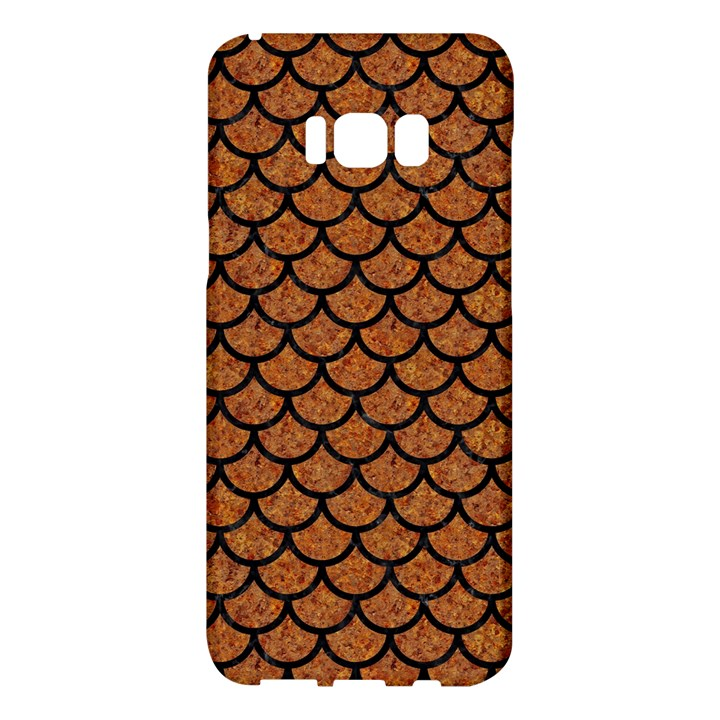 SCALES1 BLACK MARBLE & RUSTED METAL Samsung Galaxy S8 Plus Hardshell Case