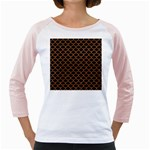SCALES1 BLACK MARBLE & RUSTED METAL (R) Girly Raglans Front