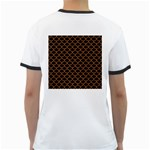 SCALES1 BLACK MARBLE & RUSTED METAL (R) Ringer T-Shirts Back