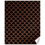 SCALES1 BLACK MARBLE & RUSTED METAL (R) Canvas 16  x 20   20 x16 Canvas - 1