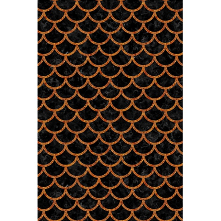 SCALES1 BLACK MARBLE & RUSTED METAL (R) 5.5  x 8.5  Notebooks
