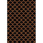 SCALES1 BLACK MARBLE & RUSTED METAL (R) 5.5  x 8.5  Notebooks Back Cover