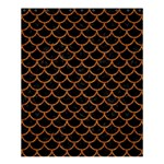 SCALES1 BLACK MARBLE & RUSTED METAL (R) Shower Curtain 60  x 72  (Medium)  54.25 x65.71 Curtain