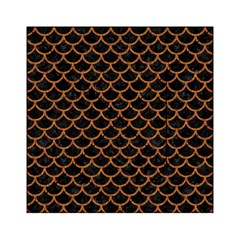 Scales1 Black Marble & Rusted Metal (r) Acrylic Tangram Puzzle (6  X 6 )