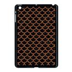 SCALES1 BLACK MARBLE & RUSTED METAL (R) Apple iPad Mini Case (Black) Front
