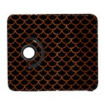 SCALES1 BLACK MARBLE & RUSTED METAL (R) Galaxy S3 (Flip/Folio) Front