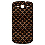 SCALES1 BLACK MARBLE & RUSTED METAL (R) Samsung Galaxy S3 S III Classic Hardshell Back Case Front