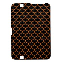 Scales1 Black Marble & Rusted Metal (r) Kindle Fire Hd 8 9