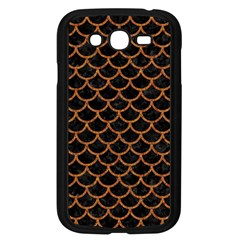 Scales1 Black Marble & Rusted Metal (r) Samsung Galaxy Grand Duos I9082 Case (black)