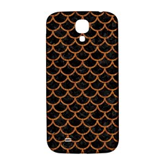 Scales1 Black Marble & Rusted Metal (r) Samsung Galaxy S4 I9500/i9505  Hardshell Back Case