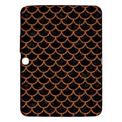 Scales1 Black Marble & Rusted Metal (r) Samsung Galaxy Tab 3 (10 1 ) P5200 Hardshell Case