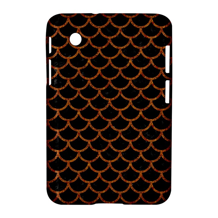 SCALES1 BLACK MARBLE & RUSTED METAL (R) Samsung Galaxy Tab 2 (7 ) P3100 Hardshell Case