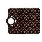 SCALES1 BLACK MARBLE & RUSTED METAL (R) Kindle Fire HD (2013) Flip 360 Case Front