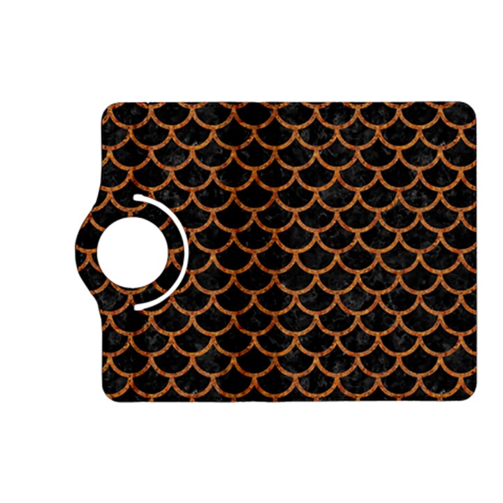 SCALES1 BLACK MARBLE & RUSTED METAL (R) Kindle Fire HD (2013) Flip 360 Case