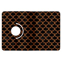 Scales1 Black Marble & Rusted Metal (r) Kindle Fire Hdx Flip 360 Case