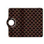 SCALES1 BLACK MARBLE & RUSTED METAL (R) Kindle Fire HDX 8.9  Flip 360 Case Front
