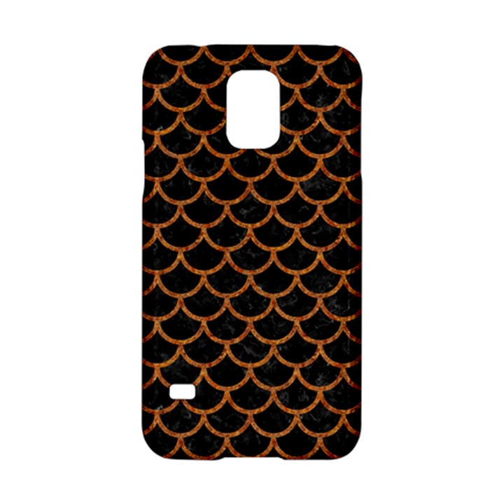 SCALES1 BLACK MARBLE & RUSTED METAL (R) Samsung Galaxy S5 Hardshell Case
