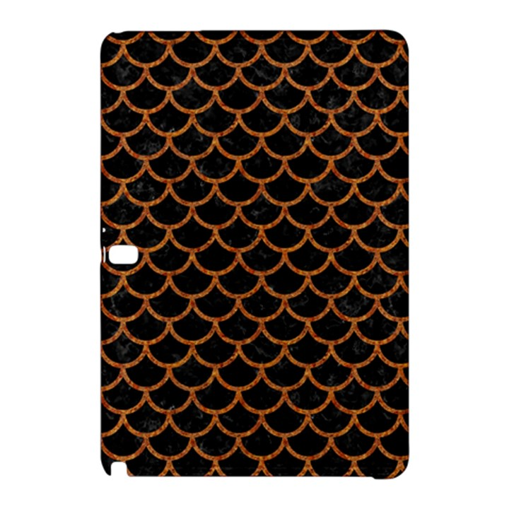 SCALES1 BLACK MARBLE & RUSTED METAL (R) Samsung Galaxy Tab Pro 10.1 Hardshell Case