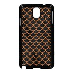SCALES1 BLACK MARBLE & RUSTED METAL (R) Samsung Galaxy Note 3 Neo Hardshell Case (Black) Front