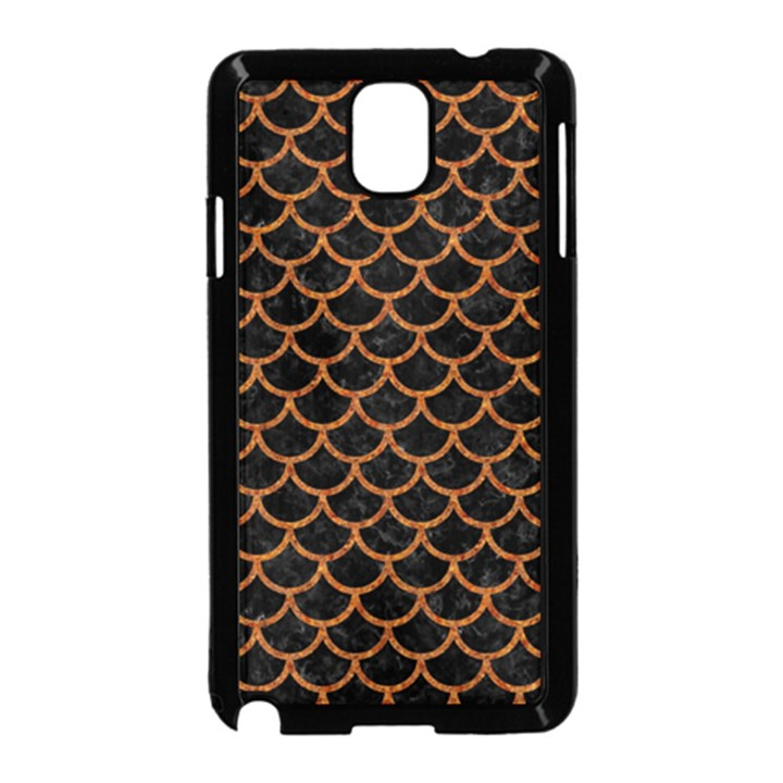 SCALES1 BLACK MARBLE & RUSTED METAL (R) Samsung Galaxy Note 3 Neo Hardshell Case (Black)