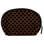 SCALES1 BLACK MARBLE & RUSTED METAL (R) Accessory Pouches (Large)  Back