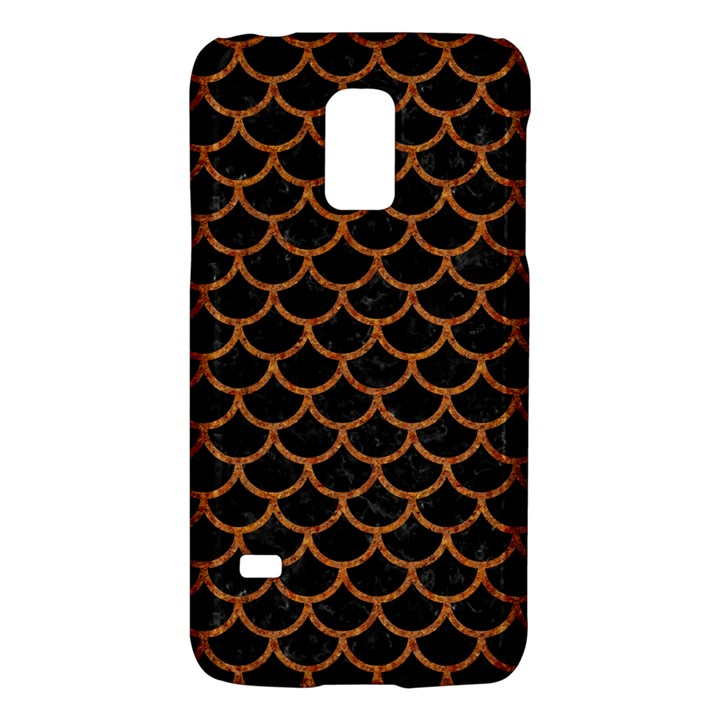 SCALES1 BLACK MARBLE & RUSTED METAL (R) Galaxy S5 Mini