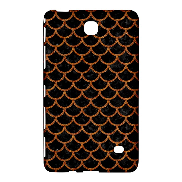 SCALES1 BLACK MARBLE & RUSTED METAL (R) Samsung Galaxy Tab 4 (8 ) Hardshell Case
