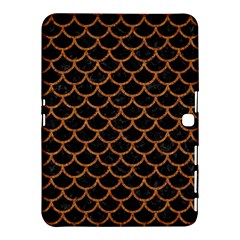 Scales1 Black Marble & Rusted Metal (r) Samsung Galaxy Tab 4 (10 1 ) Hardshell Case