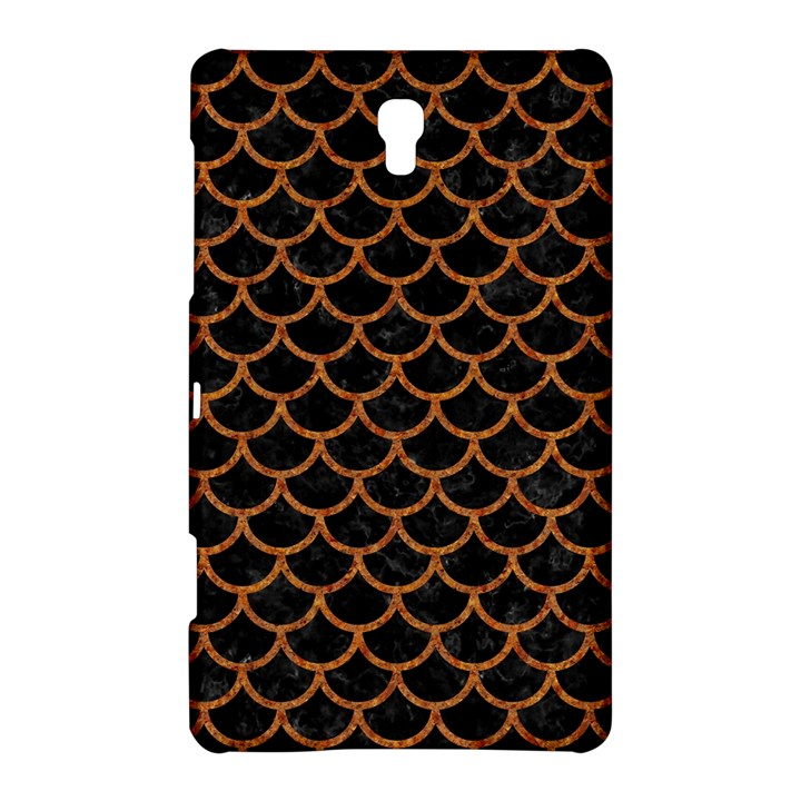 SCALES1 BLACK MARBLE & RUSTED METAL (R) Samsung Galaxy Tab S (8.4 ) Hardshell Case