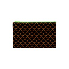 Scales1 Black Marble & Rusted Metal (r) Cosmetic Bag (xs)