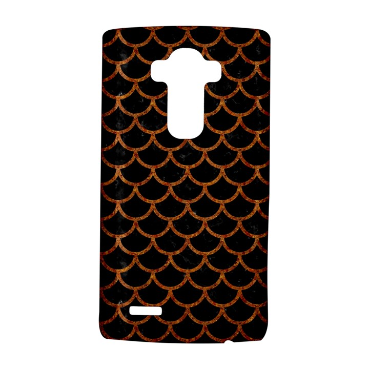 SCALES1 BLACK MARBLE & RUSTED METAL (R) LG G4 Hardshell Case