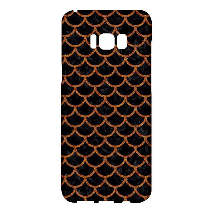 SCALES1 BLACK MARBLE & RUSTED METAL (R) Samsung Galaxy S8 Plus Hardshell Case