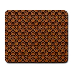 Scales2 Black Marble & Rusted Metal Large Mousepads