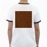 SCALES2 BLACK MARBLE & RUSTED METAL Ringer T-Shirts Back