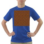 SCALES2 BLACK MARBLE & RUSTED METAL Dark T-Shirt Front
