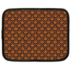 Scales2 Black Marble & Rusted Metal Netbook Case (xl)